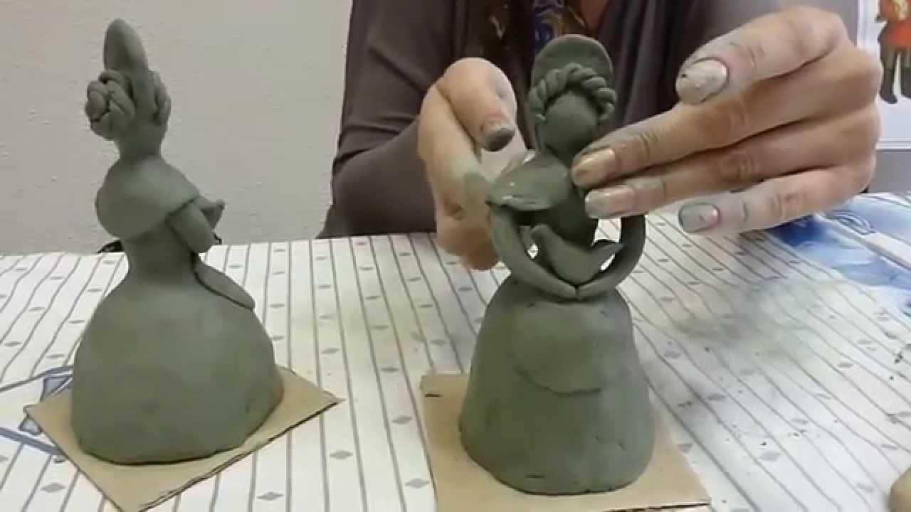 Схема игрушек из глины