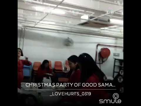 CHRISTMAS PARTY 2017 GOOD SAMARITAN CHOIR
