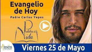 Evangelio de Hoy Viernes 25 de Mayo  Padre Carlos Yepes