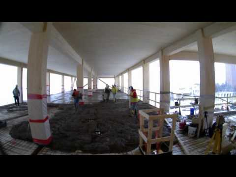 3 7 2016 - UMass Design Building Construction Timelapse