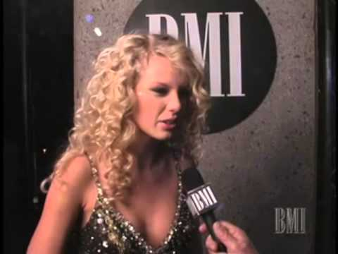 Taylor Swift Bmi Country Awards Interview 2006 Youtube