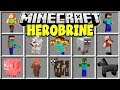 Minecraft HEROBRINE MOD | SUMMON HEROBRINE AND TRY TO SURVIVE!!