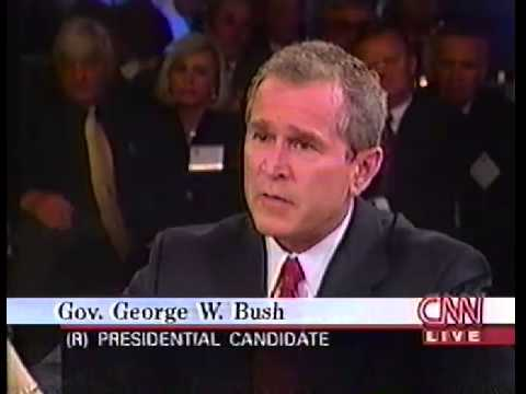 February 15, 2000, Republican Presidential Candidates Debate, CNN - Larry King , South Carolina
