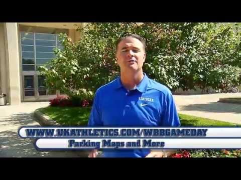 Kentucky Wildcats TV: UK Hoops Memorial Coliseum Parking Guide with Matthew Mitchell