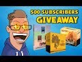 [CLOSED] 500 Subscribers GIVEAWAY