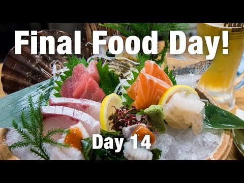 Sashimi: Final Bite in Osaka!
