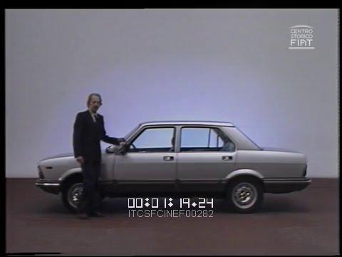 Giancarlo Baghetti prova per voi la FIAT Argenta (gamma) \ 1981 \ ita_