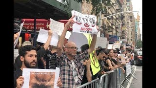 Protesters Demonstrate at NYC Pet Store Exposed for Abusing Animals