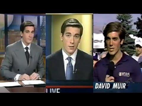 DAVID MUIR, Early Career Years