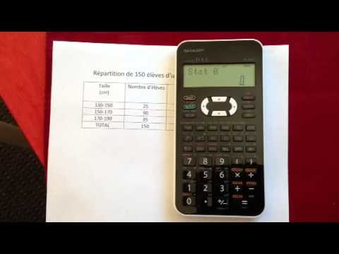 how to put sharp calculator in math mode el-546x