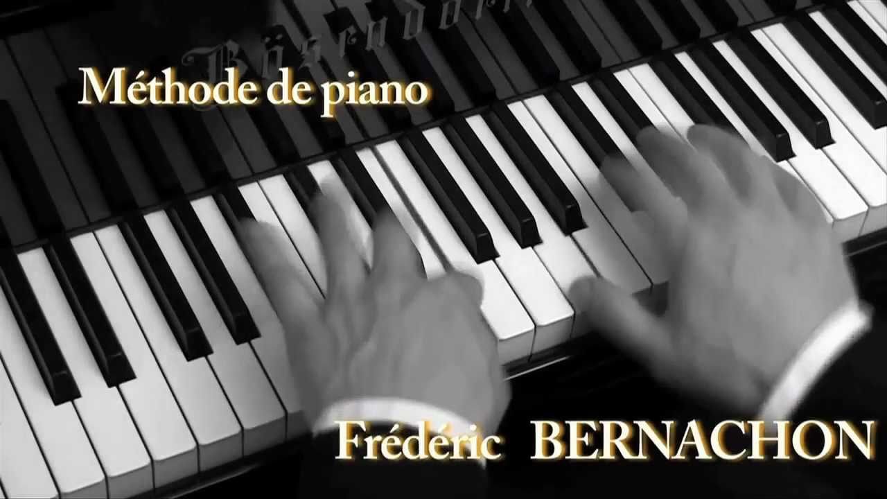 cours de piano d butant en ligne le on n 1 methode bernachon youtube. Black Bedroom Furniture Sets. Home Design Ideas