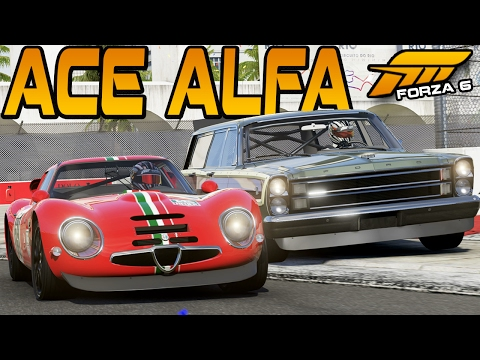 Forza 6 ACE ALFA AGAINST AN AIRCRAFT CARRIER