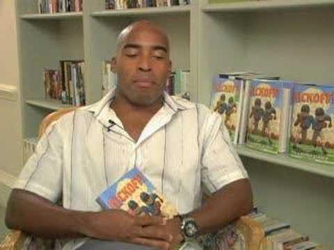 Tiki Barber - Kickoff! -- Book Video