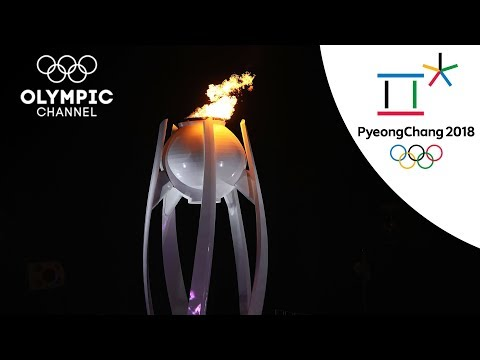 The Pyeongchang 2018 Opening Ceremony...