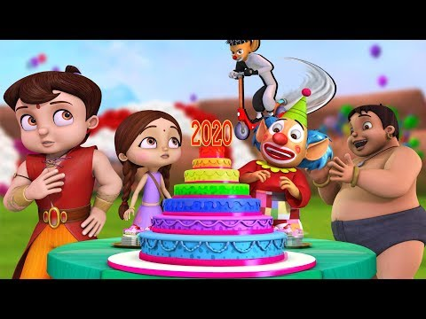 Super Bheem – The New Year Party 2020 | Hindi Cartoon for Kids | Bheem Cartoon Stories