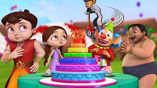 Super Bheem - The New Year Party 2020 | Hindi Cartoon for Kids | Bheem Cartoon Stories