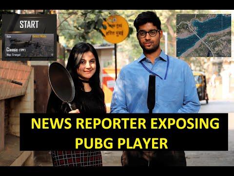 BUNTY BUBBLEE | NEWS REPORTER  EXPOSING PUBG PLAYERS PRANK