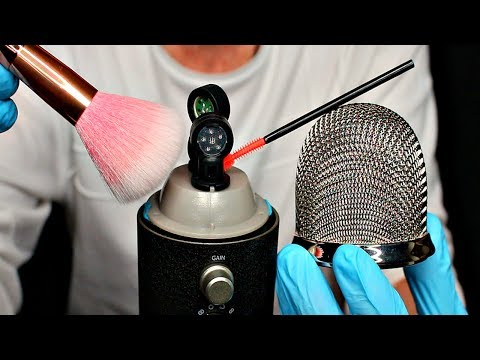 ASMR - What a Blue Yeti sounds like without its Mesh - Brush