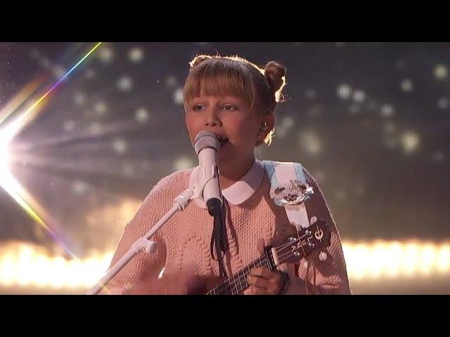 """America's Got Talent"" Grace VanderWaal WOWs Judges with Original Song ""Light In The Sky"""