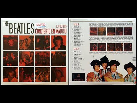 CONCIERTO EN MADRID 2 JULIO 1965 The Beatles