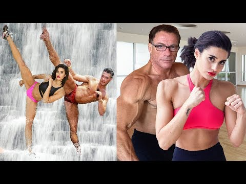 Thumbnail: Jean Claude Van Damme Trained Daughter and Son in Martial Arts