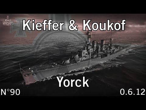 World of Warships - 0.6.12.1 - Yorck - Les deux frêres - HD