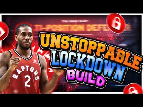 BEST LOCKDOWN BUILD IN NBA 2K20! 6'10 LOCKDOWNS ARE BACK IN NBA 2K20! THIS BUILD CAN DO IT ALL!