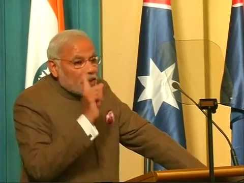PM Modi at Government House with Australian Business Leaders in Melbourne