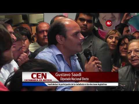 Gustavo Saadi Diputado Nacional Electo