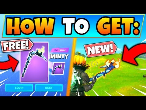 HOW TO GET MINTY PICKAXE For FREE In Fortnite! New Update In Battle Royale! (Merry Mint)
