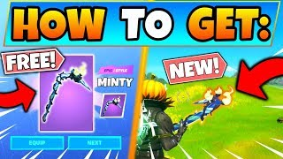 How To Get Minty Pickaxe For Free In Fortnite! New Update In Battle Royale!  Merry Mint