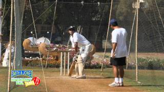 Cricket Practice:The Backfoot punch