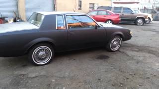84 buick regal chopping exhaust &cam sound !!