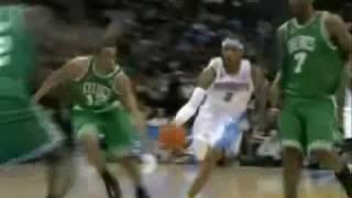 Allen Iverson 1st ever win as a Nuggets vs Boston Celtics