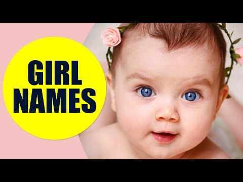 Girl Names In English - Most Popular Female Names For Baby Girls