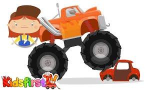 secret monster truck car doctor kid s cartoons cartoon car repairs with doc mcwheelie