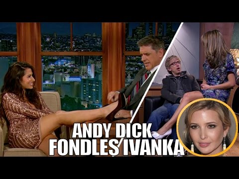 Extremely Awkward & Out of Control Flirting on Late Night Talk Shows