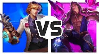 Ezreal vs Taric (Rap Battle)