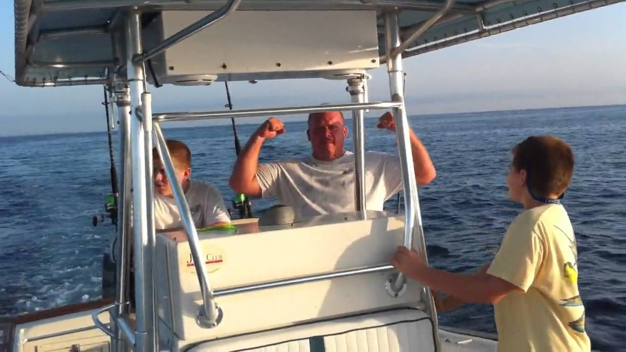 Fishing Trip Out Of Jupiter Inlet Florida Filmed And