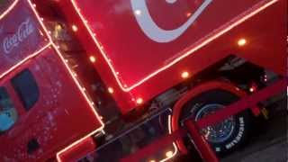 The Coca Cola Christmas Truck Visits The Trafford Centre In Manchester - 2/12/12