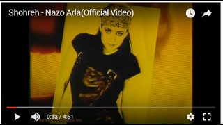 Shohreh - Nazo Ada(Official Video)