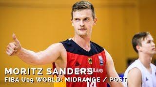 Moritz Sanders bei der FIBA U19-Weltmeisterschaft 2017: Midrange / Post
