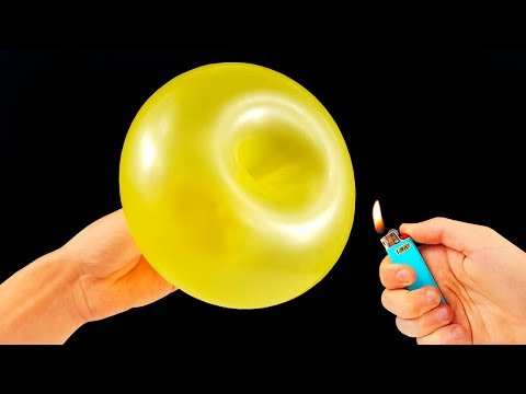 10 AWESOME BALLOON TRICKS!