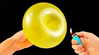 Repeat youtube video 10 AWESOME BALLOON TRICKS!