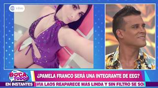 """Christian Domínguez: """"No me gustaría que Pamela sea integrante de EEG"""""""