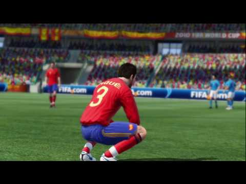 FIFA World Cup 2010 South Africa Gameplay HD