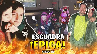 ANTRONIXX, LUAY, LUCY Y MACHIKA EN LA ESCUADRA MAS ÉPICA DE FREE FIRE *NOS ENFRENTAMOS A UN H4CKER*