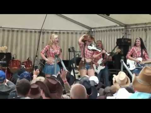 Country Sisters  Cotton Eye Joe