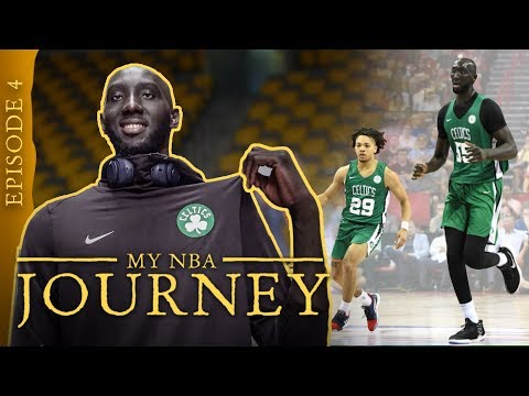 'Time To Go To WORK.' 7'7' Tacko Fall Opens Up On The Celtics, Summer League & Quieting The HATERS!