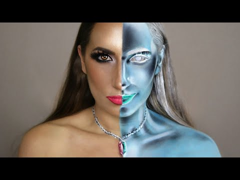 Inverted Makeup & Bodypaint Tutorial thumbnail